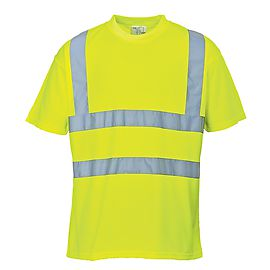 High Visibility T-shirt Yellow - S478