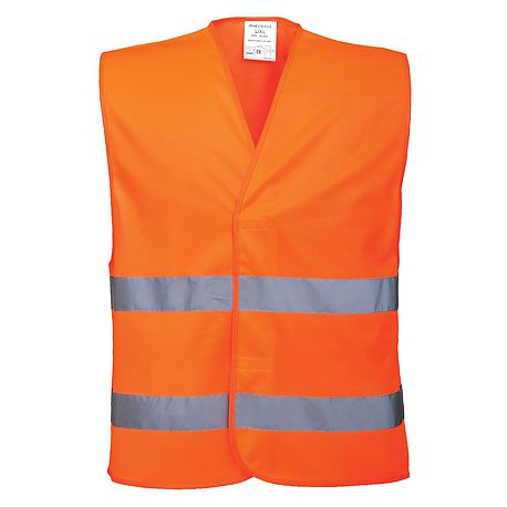 HV two band vest - C474 - PORTWEST