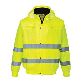 Bomber jacket HV Yellow - S161