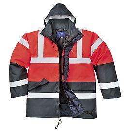 Traffic jacket HV Red/Navy - S466