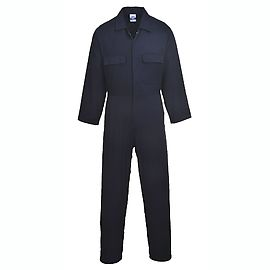 Euro Work Cotton Coverall Navy - S998