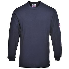 Flame Resistant Anti-Static Long Sleeve T-Shirt - FR11