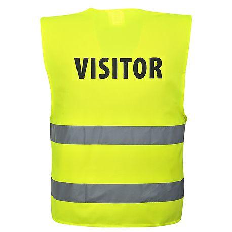 Vest HV VISITOR Yellow - C405 - PORTWEST