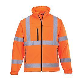 Blouson HV Softshell Orange - S428
