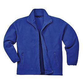 Portwest Argyll Heavy Fleece Jacket In Navy 3XL 4XL 5XL 6XL 7XL