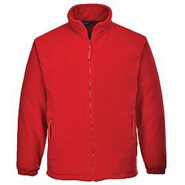 Argyll Heavy Fleece Red - F400