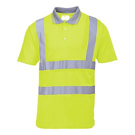 Hi-Vis Short Sleeve Polo - S477