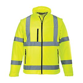 Softshell jacket Yellow - S428