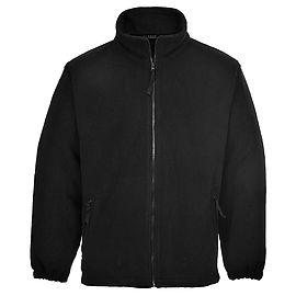 Aran Fleece Black - F205