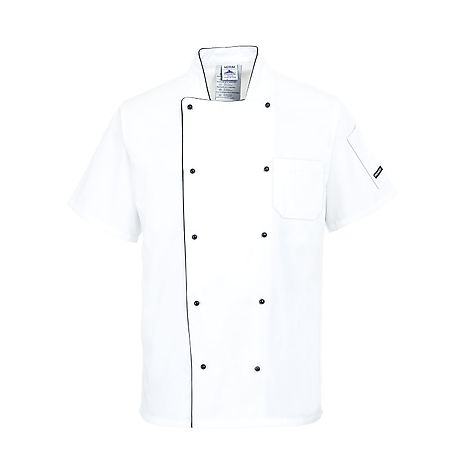 Aerated chefs jacket - C676 - PORTWEST