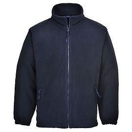 Aran Fleece Marineblauw - F205