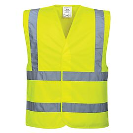 High Visibility Two Band & Brace Vest - C470