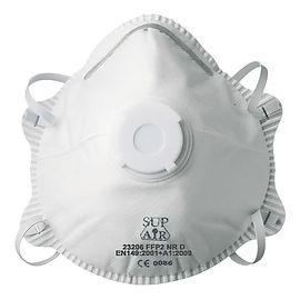 Masque P2 jetable avec valve 23206