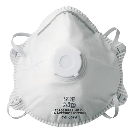 Single mask P2 with valve 23206 - SUP AIR 0faf0bec5d26
