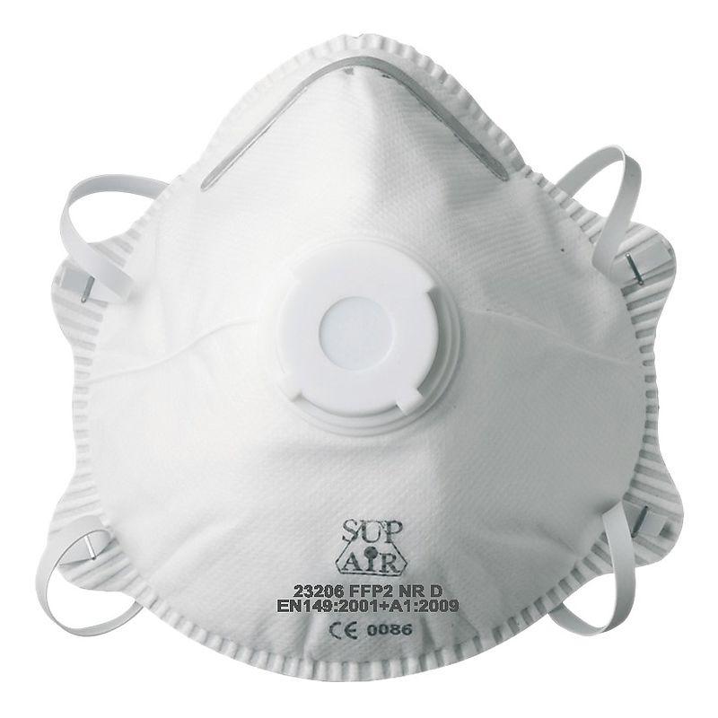 masque p2 jetable avec valve 23206 sup air. Black Bedroom Furniture Sets. Home Design Ideas