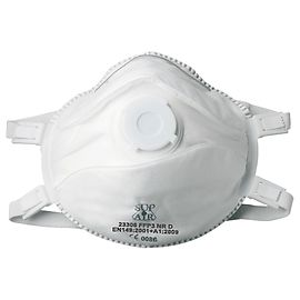 Single mask with valve FFP3 (5 pieces) - 23306