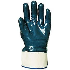 Double nitrile coated gloves