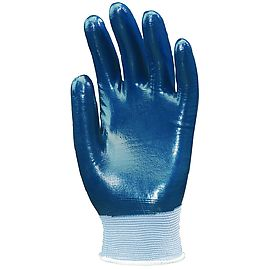 Nitrile coated nylon glove