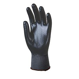 Polyamide gloves with nitrile coatingl