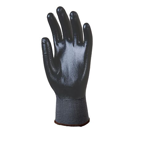 Polyamide gloves with nitrile coatingl - EUROTECHNIQUE