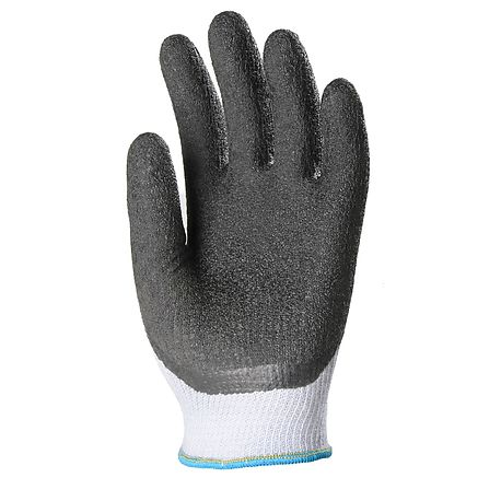 Crinkled latex coated glove - EUROTECHNIQUE