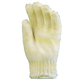 Cut and heat resistant nomex glove