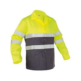 High Visibility work jacket pol/cot 245g - LINS