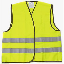 High Visibility safety vest with 2 tapes - P101