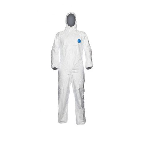 All Sizes Tyvek CHF5 Classic Xpert Type 5 /& 6 Protective Hooded Coverall