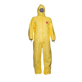 Tychem® 2000 C Hooded coverall - TC CHA5 T YL 00
