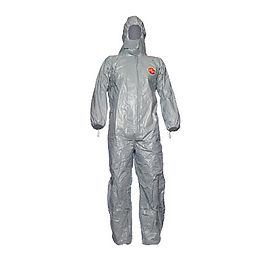 Tychem® 6000 F Hooded coverall - TF CHA5 T GY 00
