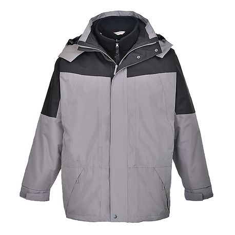 Aviemore 3in1 mens jacket Grey - S570 - PORTWEST