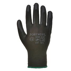 PU palm glove Black - A120