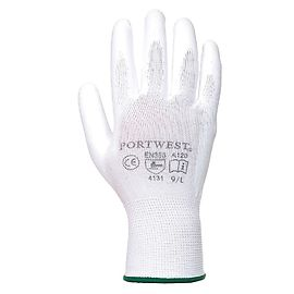 PU palm glove White - A120