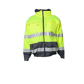 Comfortjacket High Visibility Yellow/Navy - 2047