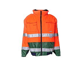 Comfortjacket HV Orange/Green - 2048