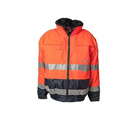 Comfortjacket High Visibility Orange/Navy - 2046