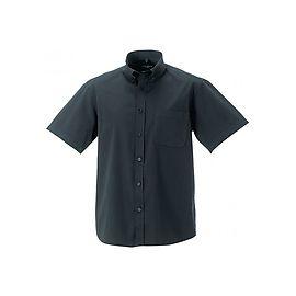 Short Sleeve Classic Twill Shirt