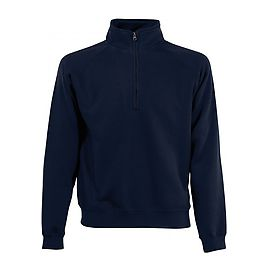 Sweat-shirt P/C zip neck 280gr