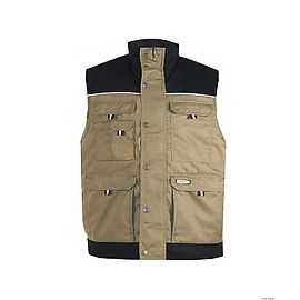 Two-tone body warmer (245g) - HULST