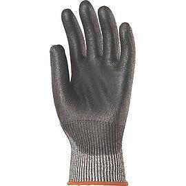 Gants anticoupure5 gris PU noir - Jonnyma