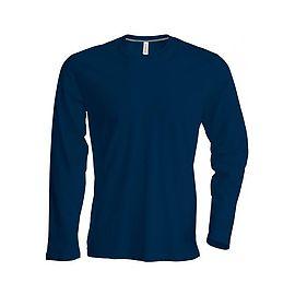 Men's long-sleeved crew neck T-shirt - K359C