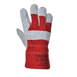 Prenium chrome rigger glove - A220