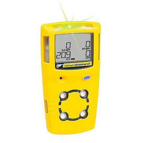 MicroClip XL multi-gas detector - BW TECHNOLOGIES