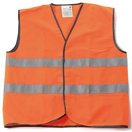 Orange warning vest P111