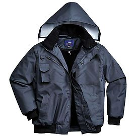 3-in-1 bomber jacket Navy - F465