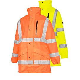 Rain jacket HV Seyntex