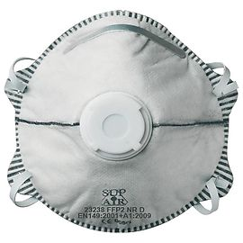 Disposable mask with valve FFP2 - 23238