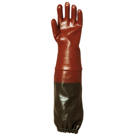 Sewer type PVC gloves - 3669