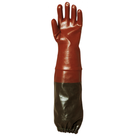 PVC Glove sewer worker (70 cm) - EUROTECHNIQUE